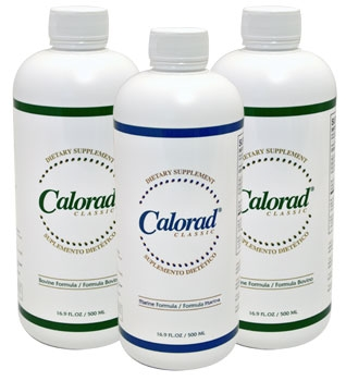 Order TWO bottles of Calorad for only $69.00